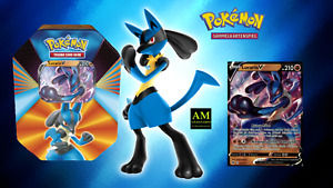 Pokemon TCG - Tin Box Lucario V German immediately Available New