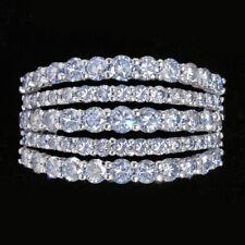2.3Ct Natural Blue Diamond 10K White Gold Ring Color Enhanced RBG296-10-7-4