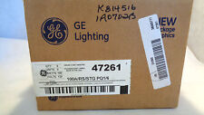 NEW IN BOX OF (6)  GENERAL ELECTRIC 100A/RS/STG/PQ1/6 INCANDESCENT LAMP/BULB