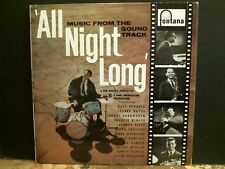 All Night Long soundtrack LP Tubby Hayes Charlie Mingus etc Rare ex!