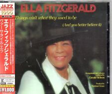 CD Ella FITZGERALDThings Ain't What They Used To Be (1970 pop album)CD