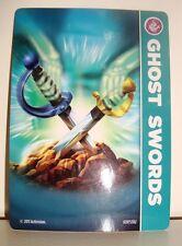 CARTE CARD FIGURINE SKYLANDERS - GHOST SWORDS