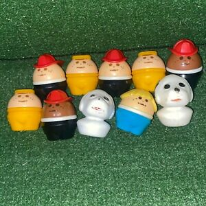 Vintage Little Tikes Toddle Tots Chunky People Toy Figures Lot Of 10