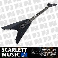 ESP LTD James Hetfield Vulture Signature Electric Guitar Black Satin *BRAND NEW*