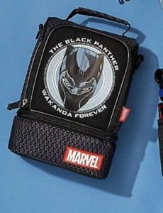 Black Panther Kids School Lunch Box 2020 Disney Store Wakanda Forever