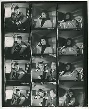 "1960s/70s TV Show Photo Proof Sheet: ""THE FBI"" - EFREM ZIMBALIST JR +"