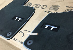 Audi TT MK2 3.2 Carpet Floor Mats Carpet Protection Feet Pads Original OEM Audi