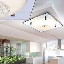 12 Watt LED Decken Lampe Chrom Kristall Spiegel Flur Leuchte Bad Strahler EEK A