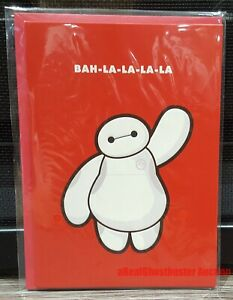Official Disney Big Hero 6 Baymax Embossed Thank You Greeting Card New in Bag