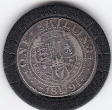 Queen   Victoria  1894   Sterling   Silver  Shilling  British Coin