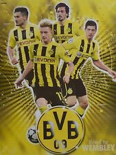 BORUSSIA DORTMUND - A2 Poster (XL - 42 x 55 cm) - Marco Reus Mats Hummels BVB