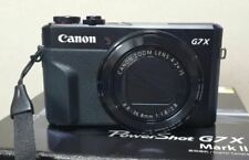 Canon G7X Mark II Power Shot 20.1MP Digital Camera Mark2 MK2 (Black) Used