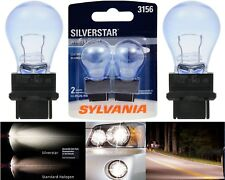 Sylvania Silverstar 3156 27W Two Bulbs Back Up Reverse Light OE Fit Replacement