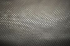 """2NDS FABRIC PEWTER GREY 1.9 OZ NYLON DIAMOND RIPSTOP 70D FABRIC 60""""W  BY THE YD"""