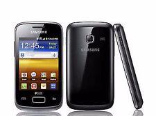 Samsung Galaxy Y Duos GT-S6102 Y Dual Sim Unlocked 3G Smartphone Black with Box