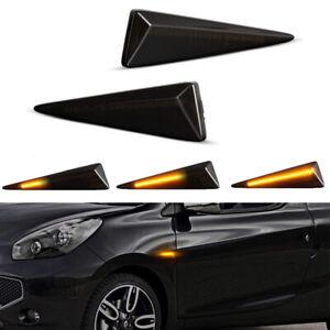2X Dynamic LED Side Marker Light For Renault Avantime Megane CC Grand Scenic MK2