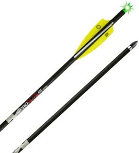 TenPoint Pro Elite 400 Alpha-Brite Lighted Crossbow Arrows, 6 Pack