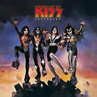 KISS Destroyer BANNER HUGE 4X4 Ft Fabric Poster Flag Tapestry Print album cover