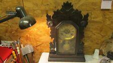 Antique Gilbert Hawk Kitchen Clock