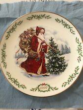 Lenox International Victorian Santa Claus Plate Collection~1992~Kris Kringle