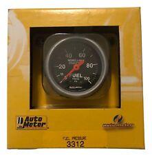 """Auto Meter 2-1/6"""" Sport-Comp Mechanical Fuel Pressure Gauge 0-100 Psi"""