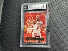 1995-96 Fleer Ultra: Michael Jordan- Double Trouble (BGS 9 Mint, #3)