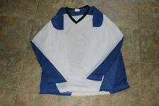 Tour White & Blue Hockey Jersey Size XL