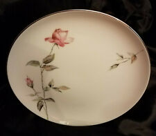"""Two  2 Style House  DAWN ROSE Fine China 10 1/2"""" Dinner Plates Replacement"""