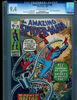 Amazing Spider-Man 88 CGC 9.4 Awesome Romita Doc Ock cover!! Marvel Comics 1970