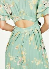 Zara Heron Print Flowing Dress S/S2017 Size XS SOLD OUT