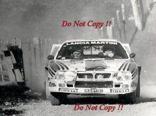 Attilio Bettega MARTINI LANCIA 037 RALLY NEW ZEALAND RALLY 1983 fotografia 4