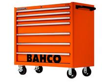 Bahco 1475KXL7 C75 40″ 7 Drawer Mobile Roller Cabinet Orange