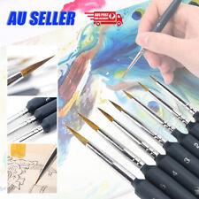 Hook Line Pen Wolf Hair Brush For Gouache Art Watercolor Paint Oil Painting Set
