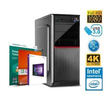 Oficina & Office Computadora PC INTEL 8gb DDR4 RAM 3000GB HDD Windows 10MS 3