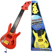 "19"" Kids Childs Acoustic Rock Guitar Toy Musical Instrument with Guitar Pick"