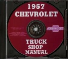 CHEVROLET 1957 Suburban, Van & Pick Up Truck Shop Manual CD