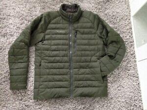 Simms DOWNstream Sweater Loden Mens MEDIUM Fly Fishing Jacket