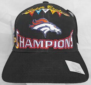 Denver Broncos NFL Logo Athletic Super Bowl XXXII Champions adjustable cap/hat