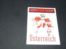 N°150 MASCOTTES ÖSTERREICH AUTRICHE PANINI FOOTBALL UEFA EURO 2008