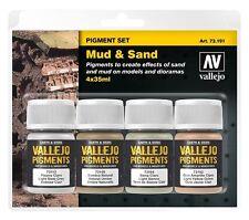 AV Vallejo 73191 Pigments Set Mud & Sand