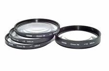 Kood 58mm Macro Objetivo Filtro Set +1 +2 +4 +10 para Digital & Película cámaras