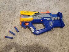 NERF N-STRIKE ELITE FIREFLY REV - 8 SOFT DART GUN w 8 DARTS LOT NC