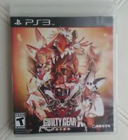 Guilty Gear xrd X rd Sign Ps3 Playstation 3 Complete Rare Aksys Sony
