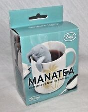 Manatea Tea Strainer FRED Silicone Novelty Infuser Filter Manatee Decor Fun NEW