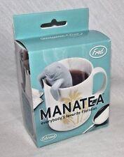 Manatea Tea Strainer FRED Silicone Novelty Infuser Filter Manatee Decor Fun NEW