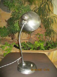 alte orig. Kaiser Idell Schreibtischlampe Metall Bauhaus um 1930 ?