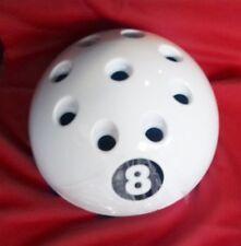Circolare GIGANTE BIANCO 8 Ball Cue Rack Stand Snooker Biliardo Tavolo Da Biliardo 9 stecche