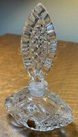 Vintage West German IMPERLUX Crystal Perfume Bottle