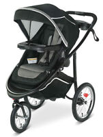 Graco Baby Modes Jogger 2.0 3-Wheel Jogging Stroller Binx NEW