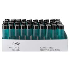 Mason & Miller Shower Gel - 50x 20ml bottles - Hotels & Guest Houses etc Travel